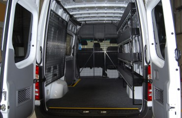 VQuip - Van Transforming Vehicles | Service Van - Custom Shelving