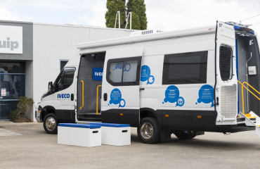 VQuip - Transforming Van Vehicles | Iveco Australia - Display Van