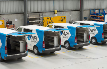 VQuip - Transforming Van Vehicles | API Locksmiths - Service Van