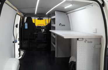 VQuip - Transforming Van Vehicles | Linktech - Work Benches