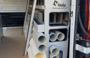 VQuip - Transforming Van Vehicles | Fire Rental Solutions - Custom Shelving