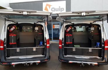 VQuip - Transforming Van Vehicles | Penske Power Systems - Service Van