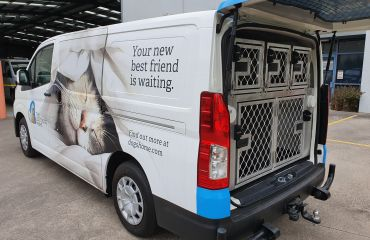 VQuip - Transforming Vehicles | Lost Dogs Home Animal Transport Van - Img1