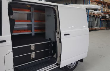VQuip - Transforming Vehicles l Tradie Van - Custom Drawers